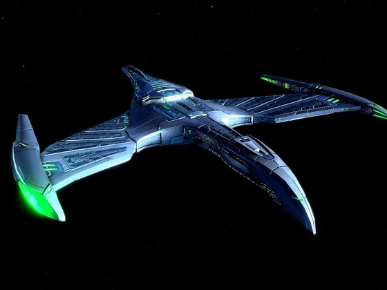 Fleet Daeinos Warbird Destroyer