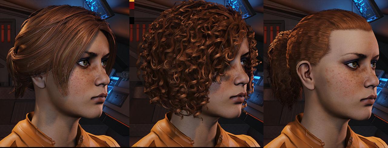 Femine hair-styles ED 2.4 Beta