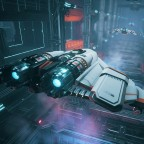 Fully upgraded Everspace ship