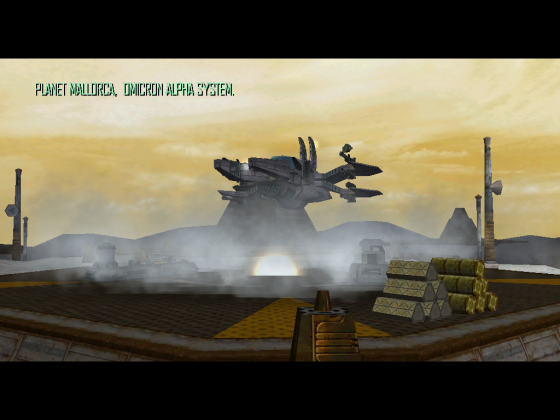 Landing after all bounty hunter bases cleared in Omicron Alpha :)
