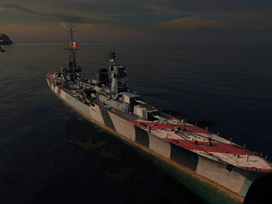 Raimondo Montecuccoli (Italian Cruiser line; Early Access)