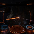 Mining - cockpit view