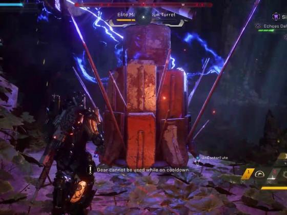 Anthem - Tyrant Mine (Grandmaster 1) - Ranger