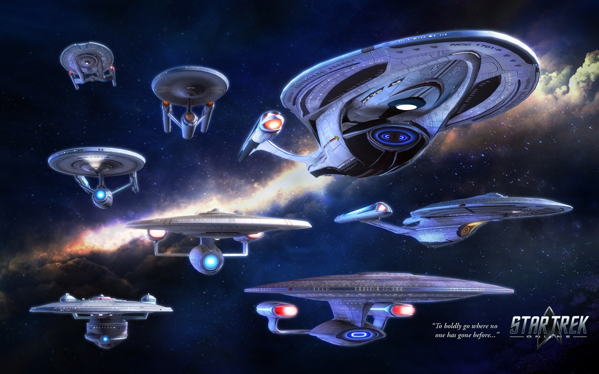 Star Trek Ships of the Line 2019 Wall Calendar CBS
