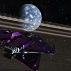 Day 6 - at outer border of the light side of the ringed Water World