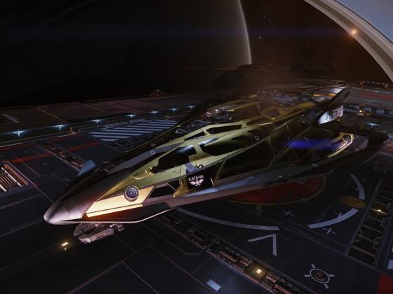 Katana docked at Balor