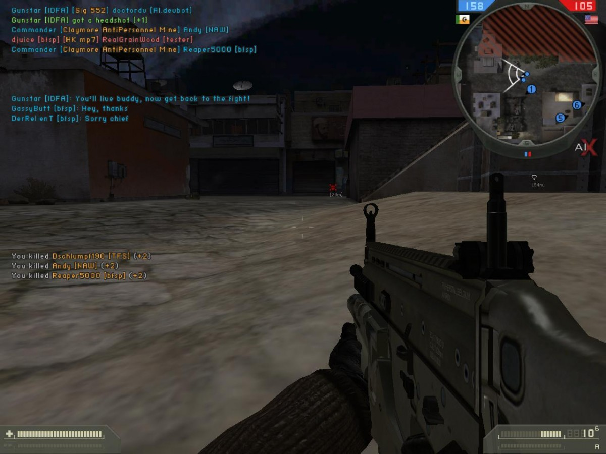 Battlefield 2 AIX singleplayer
