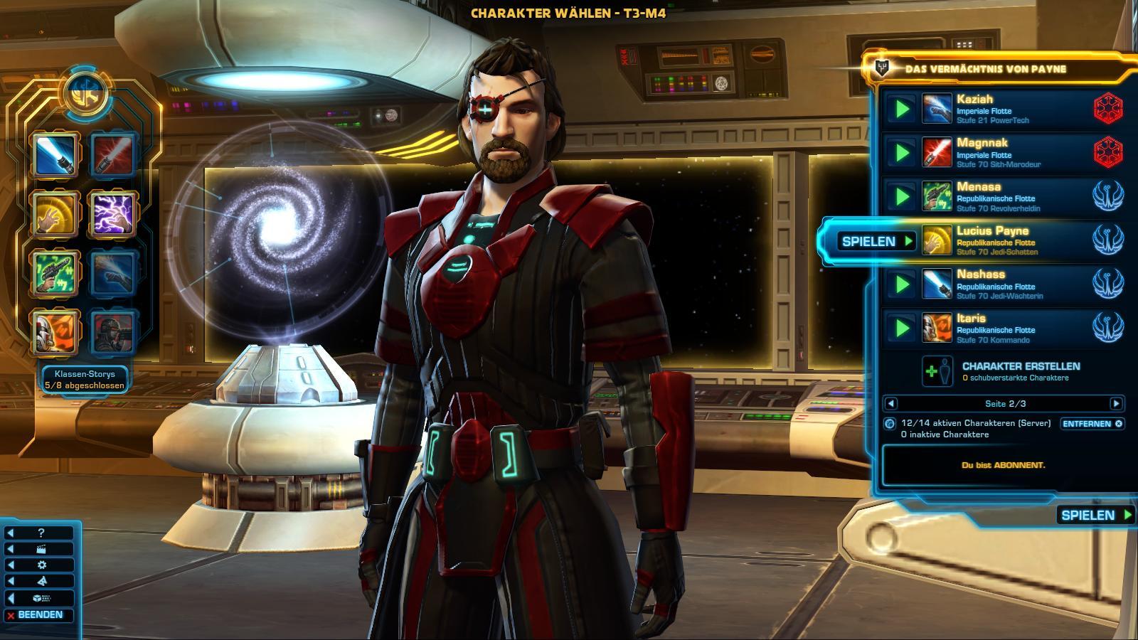 Lucius - Jedi Consular