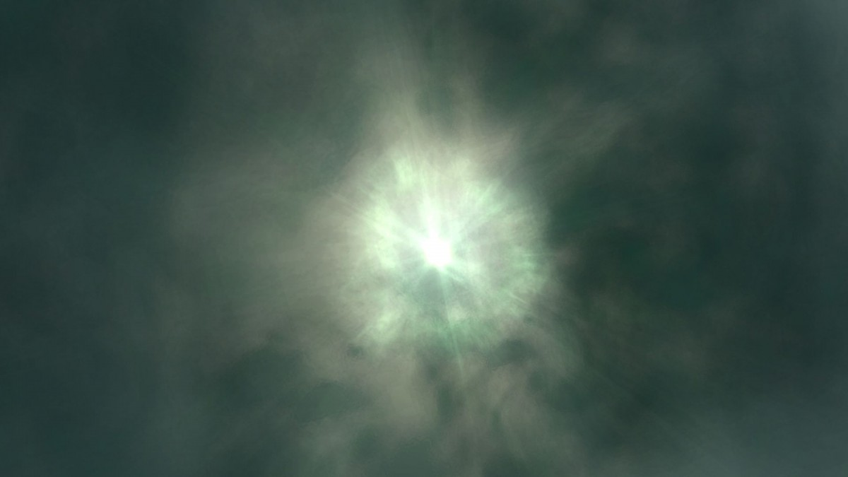 Medium Yellow Sun in Outer Dyson Shpere