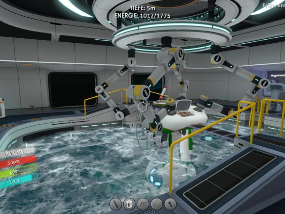Subnautica base - moonpool 2