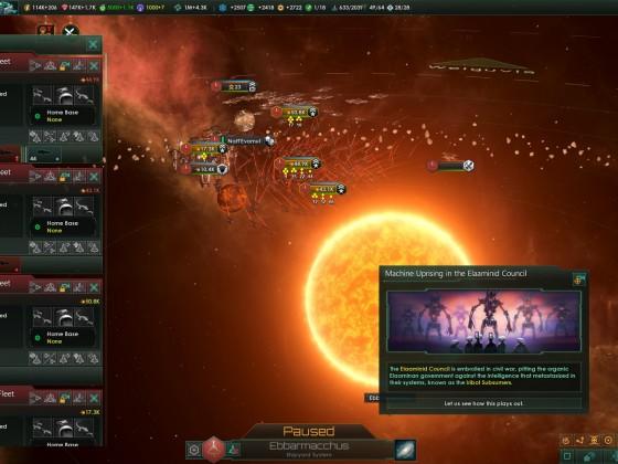 Stellaris: Hostile empire got itself a nice AI Rebellion