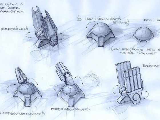 projectile turrets
