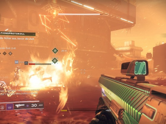 Horde Mode - Escalation Protocal 1 - It's Getting Hot Out There
