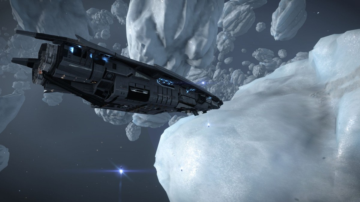 Relax in Ice asteroid field