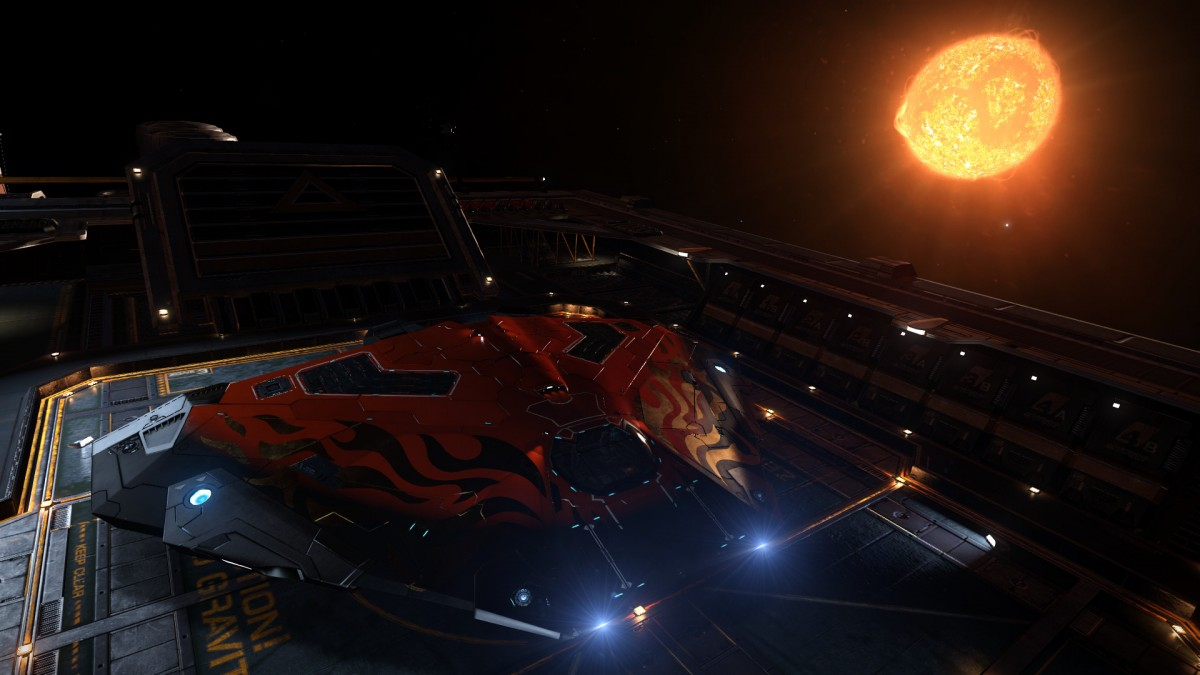 Docked on Outpost
