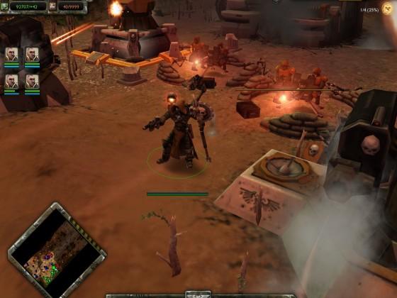 Engineseer in combat