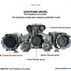 005-Nostromo Model back view