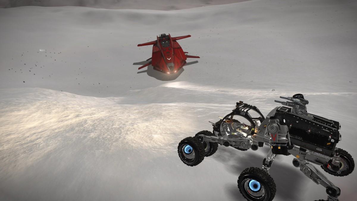 Horizons - Ice planet