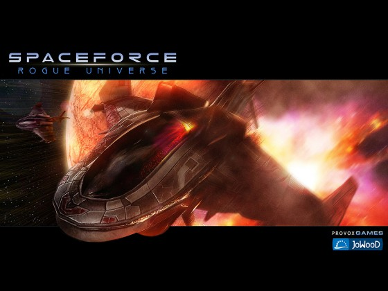 Spaceforce Rogue Universe Wallpaper