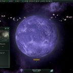 Stellaris: Nanite world, terraformable.