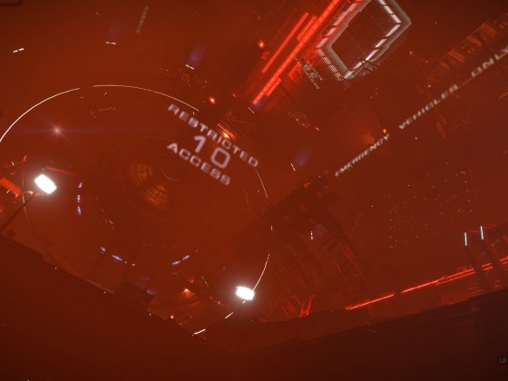 Station attacked by Thargoids