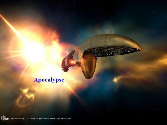Amarr Apocalypse Battleship