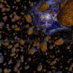 Dense Asteroid Field