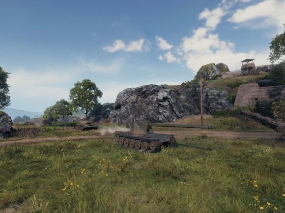 WoT Frontline: Emil I advancing