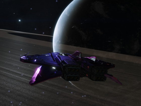 Day 6 - Dark side of the ringed Water World