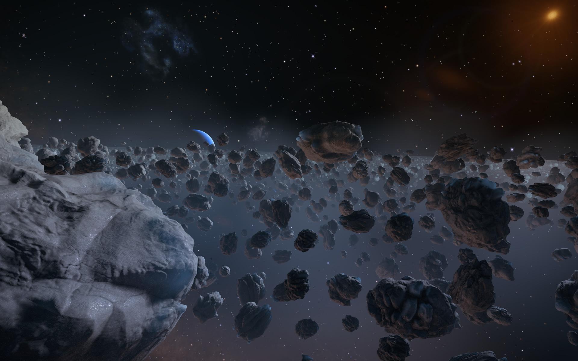 ice comet asteroids - photo #1