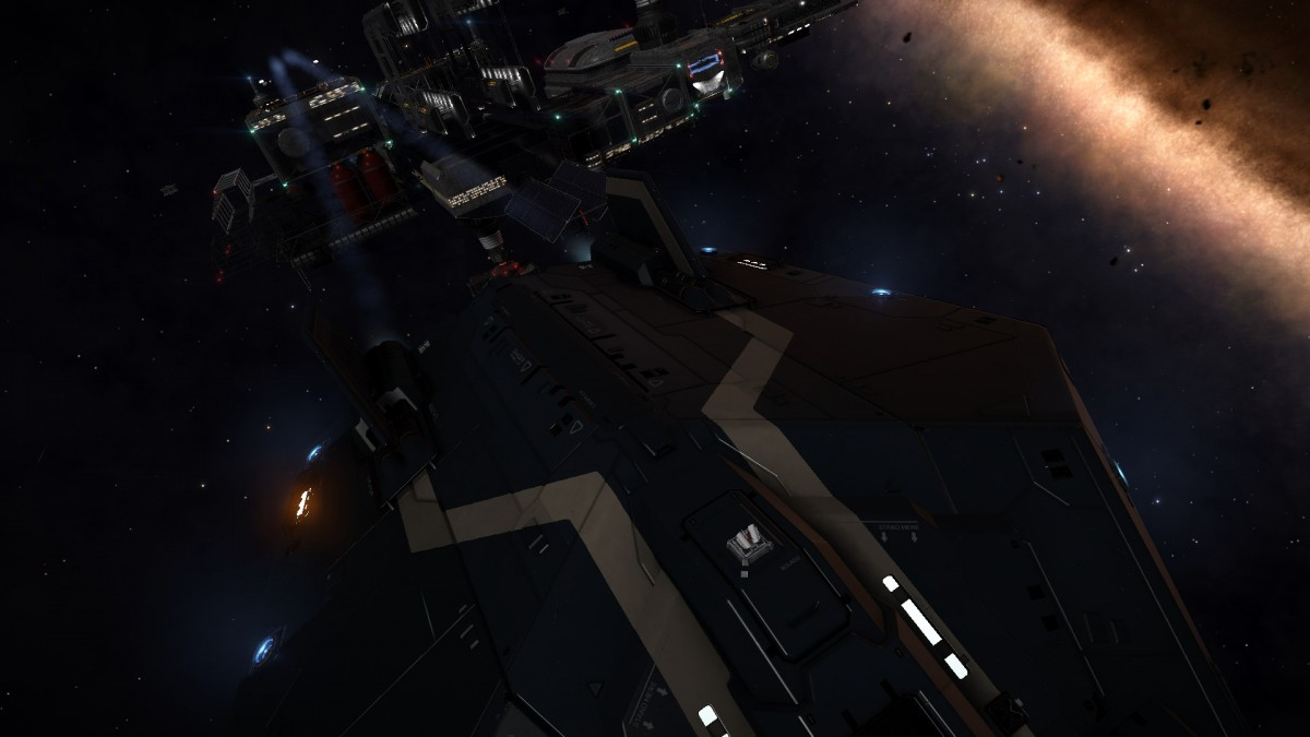 Leaving Outpost