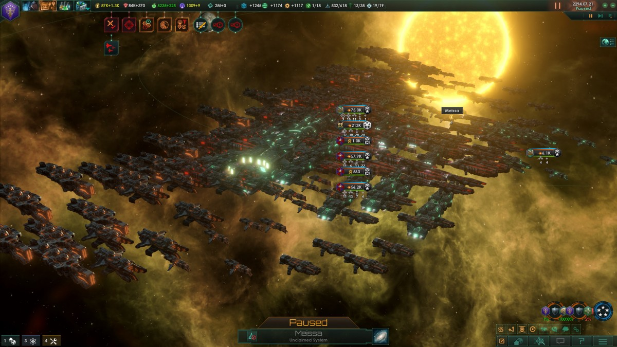 Stellaris Allied Fleets (NPC Federation)