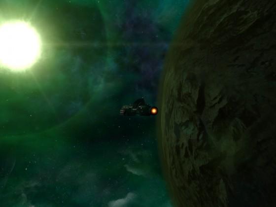 VIPs trasport to Planet LP 03