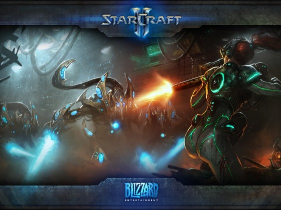 Starcraft 2 Wallpaper