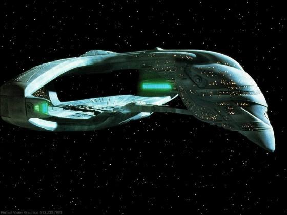 Romulan D'deridex-class Warbird