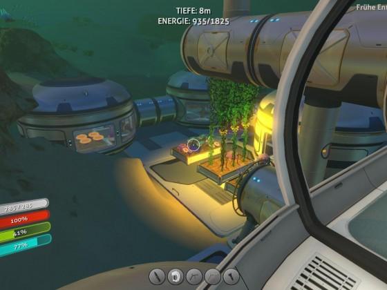 Subnautica base - habitat