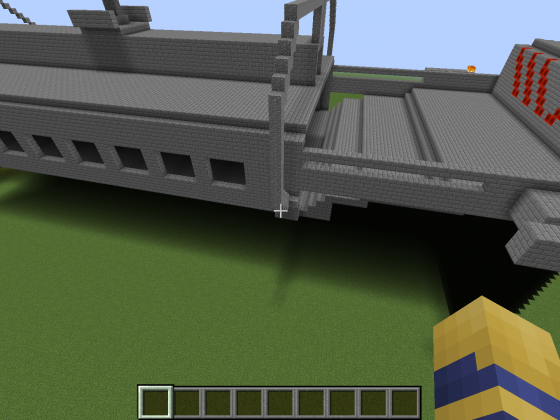 ANS Yamato & ANS Washington in Minecraft