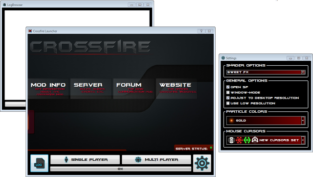 Crossfire Launcher and Updater