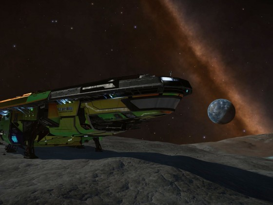 At rocky planet close to ELW