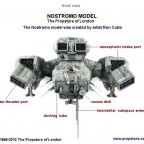 004-Nostromo Model front view