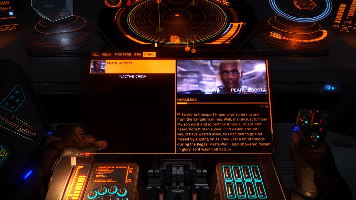 ED 2.2 - My first hired crew member