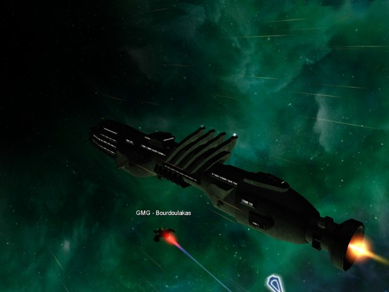 VIPs trasport to Planet LP 04