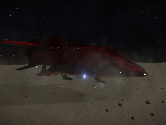 Horizons - landing in free terrain