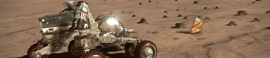 SRV - planetary vehicle ...