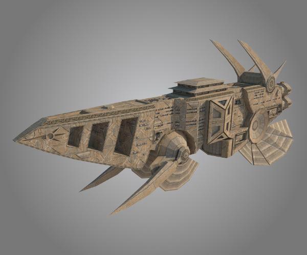 Kusari Battleship - Edo