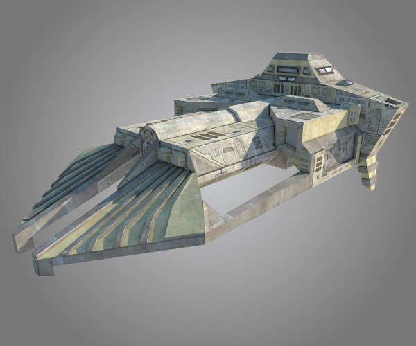 Armored Transport - freighter